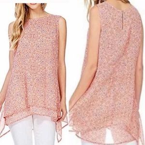 NWT Nordstrom Brand FEVER Sleeveless Blouse